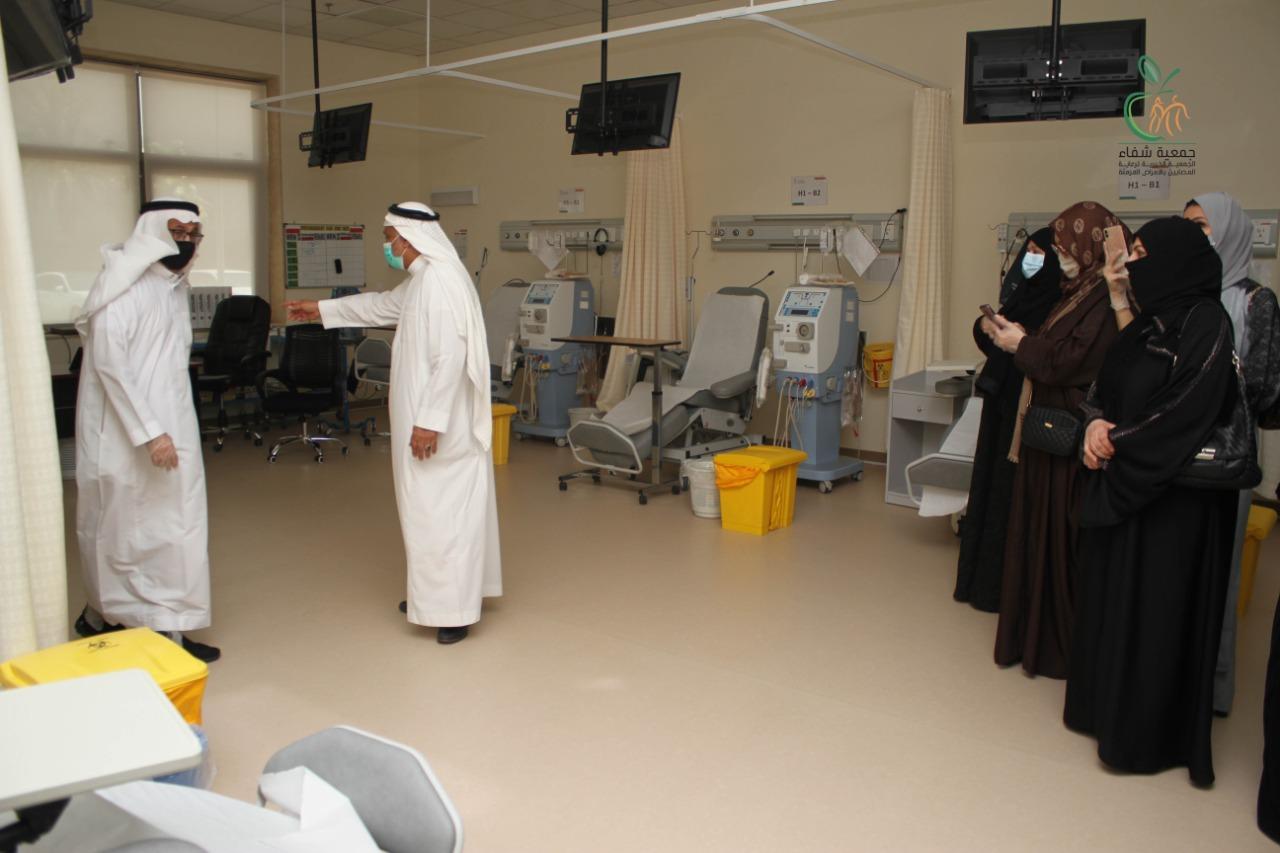 جمعية شفاء تستقبل وفد من سيدات أعمال مكة