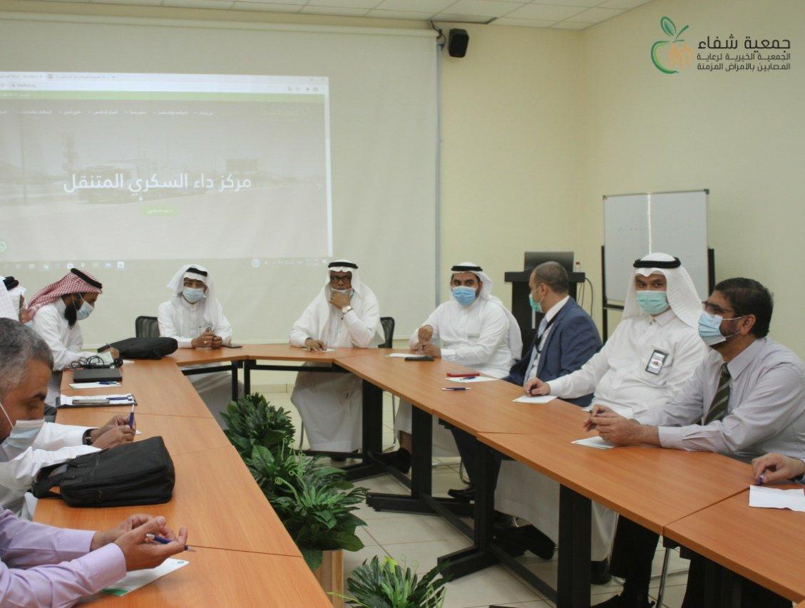 جمعية شفاء تعقد عدداً من ورش العمل لتطوير ورفع كفاءة العمل