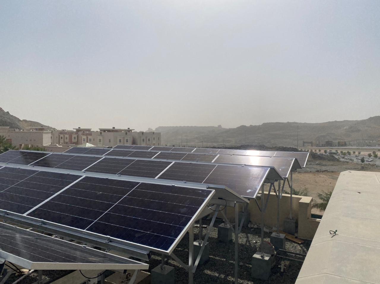 اكتمال أسهم وقف الطاقة الشمسية